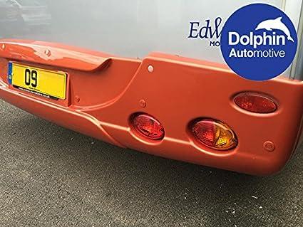 bianco Dolphin con cicalino acustico nero argento furgoni Sensore per parcheggio in retromarcia/di camper grigio