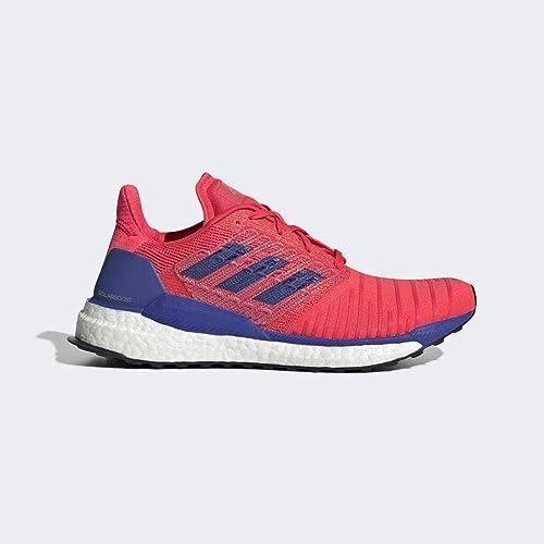 adidas Solar Boost Neutralschuh Damen-Rot, Blau, Zapatillas de Running Calzado Neutro para Mujer: Amazon.es: Zapatos y complementos