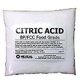 CITRIC ACID   1KG BAG   100% Anhydrous   BP/Food Grade   Additive, Bath, Brew