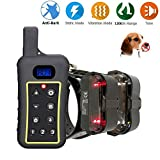 MKLY Pet Resolve Dog Training Collar,Anti Bark Collar Waterproof 1300Yd Remote Controlled Dog Shock Collar For All Dogs Over 10Lbs,C