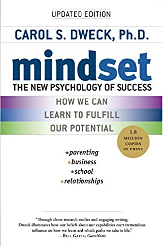 Book cover: Mindset by Carol Dweck
