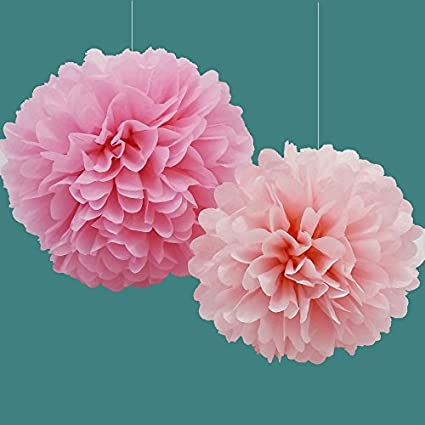 Amazon pom poms by festival hands pack of 5 2 sizes tissue pom poms by festival hands pack of 5 2 sizes tissue paper mightylinksfo