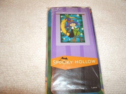 Spooky Hollow Happy Halloween Decorative Flag 25
