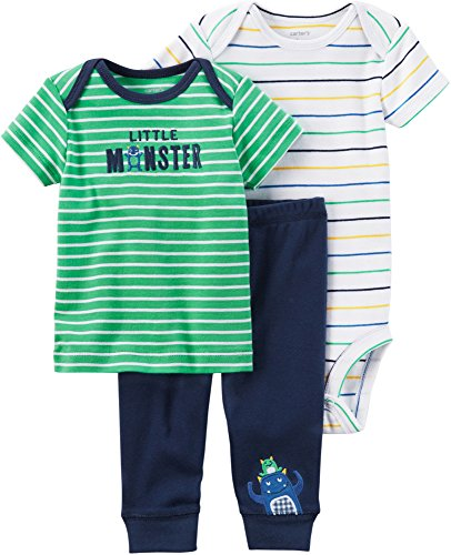 Carter's Baby Boys' 3-Pc. Little Character Set 6 Months
