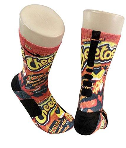 Custom Nike Elite Cheetos Socks Import It All