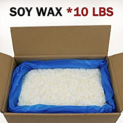 EricX Light Natural Soy Wax 10 Pound,121℉ melt P