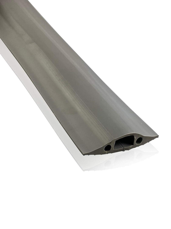 x 8 mm l gris On1shelf/® Protection de sol de r/ésistance moyenne Cavit/é de c/âble 16 mm Prot/ège contre les risques de chute H | Gris