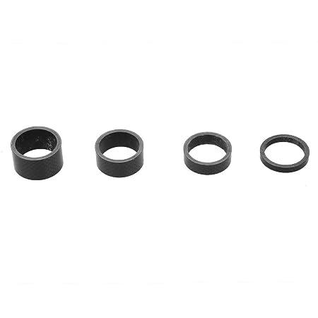 Fahrrad Carbon Spacer Schwarz A-head 1-1//8 Zoll Carbonspacer 5//10//15//20mm Set R TOOGOO
