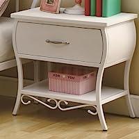 Coaster Home Furnishings Nightstand, White