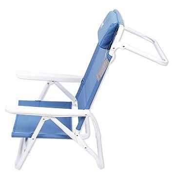 HM&DX Portátil Sillas Plegables Silla de Camping reclinable ...