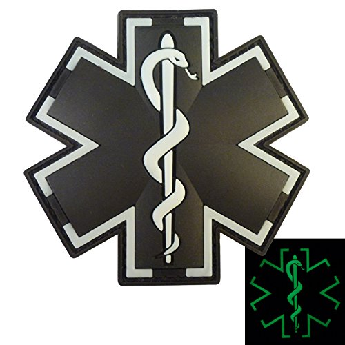 acu paramedic Embtao glow in dark acu ems emt medic paramedic star of life morale tactical embroidered applique iron on/sew on patch - black & white by embtao $795 $ 7 95 prime.
