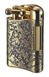 Sarome Flint Lighter for Pipe PSD12-11 Antique brass arabesque