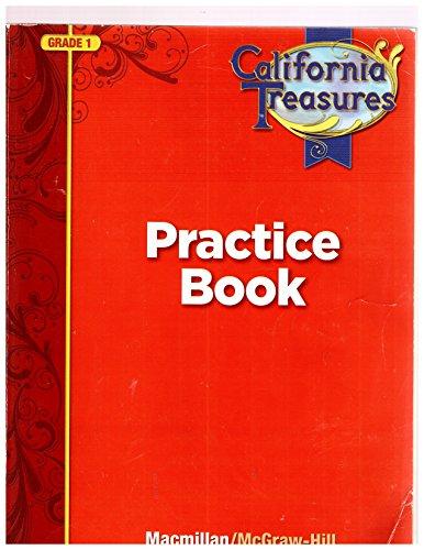 California Treasures Practice Book Grade 1