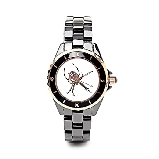 Correa de cerámica relojes de Halloween disfraz divertido Halloween baratos Relojes de pulsera.: Amazon.es: Relojes