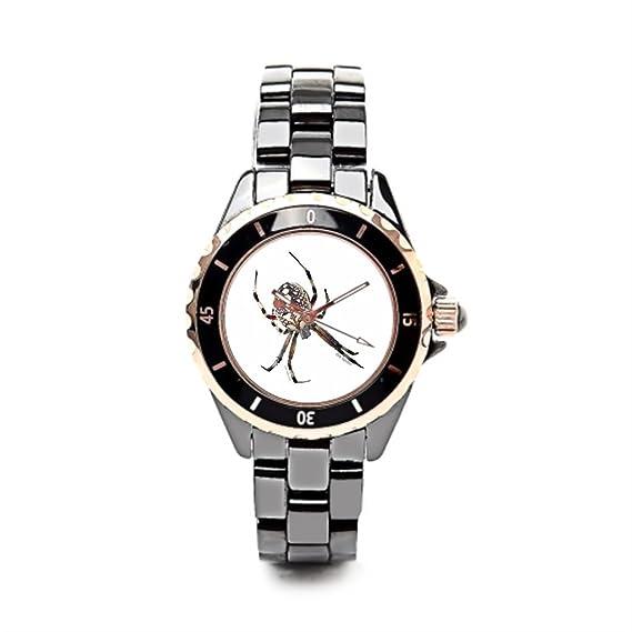 Correa de cerámica relojes de Halloween disfraz divertido Halloween baratos Relojes de pulsera.