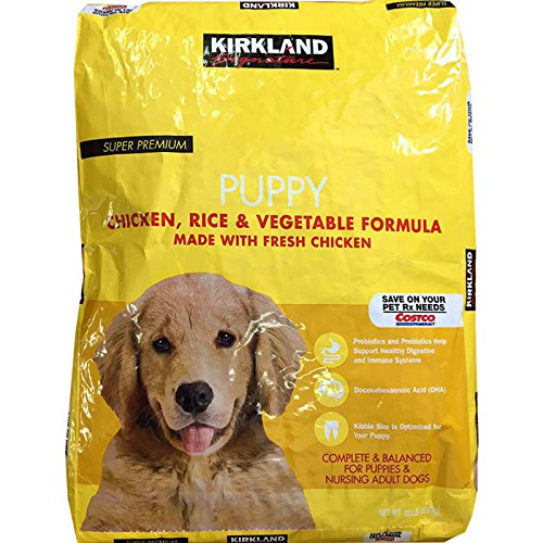 Amazoncom Kirkland Signature Super Premium Puppy Dog Food Chicken