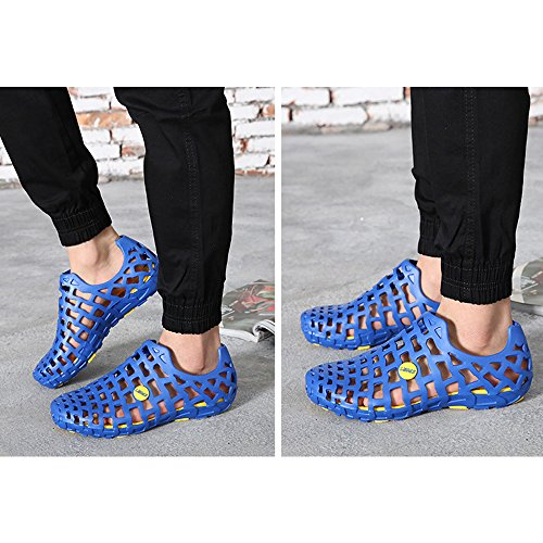 DULEE - Sandalias deportivas de goma eva para mujer Azul