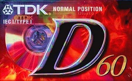 Tdk D 60 Eb Audio Kassette 3er Pack Elektronik