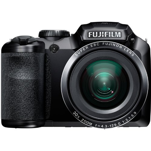 Fujifilm FinePix S4800 16MP Digital Camera with 3-Inch LCD (Black) (Discontinued by ()