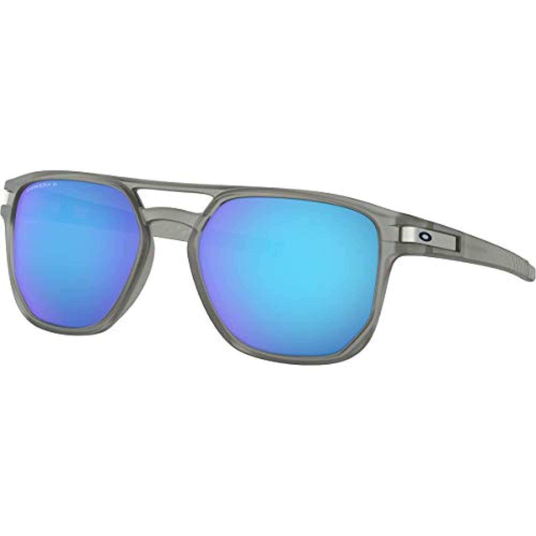 5a06f19a5a Amazon.com  Bundle  Oakley Latch Beta Sunglasses Matte Black Prizm Black  Polarized   Earbuds  Clothing
