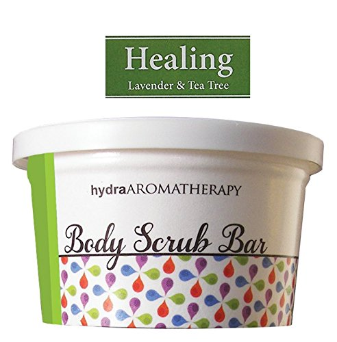 Hydra Aromatherapy Body Scrub Bars (Green: HEALING) -