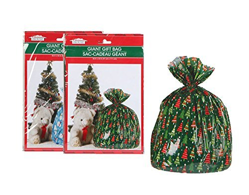 Christmas House Giant Gift Sacks Bags – Great BIG gift bags for great BIG presents! Set of 2 – Assorted Styles