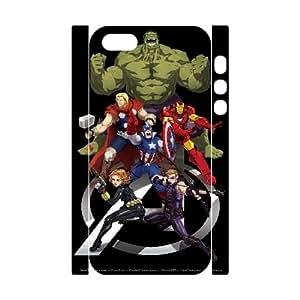 LTTcase Custom avengers 3D Case for iphone 5,5s