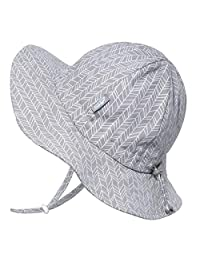 Jan & Jul Unisex UV Protection Sun-Hat, Wide Brim, Adjustable with Strap, for Baby, Toddler, Kids