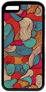 Colorful Abstrct Art Pattern Theme Iphone 5C Case