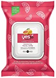 Yes to Grapefruit Rejuvenating Facial Wipes, Correct & Repair 25 ea (Pack of 6) For Sale