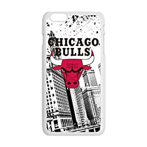 Cool Painting Chicago Bulls Cell Phone Case For Iphone 5C Cover