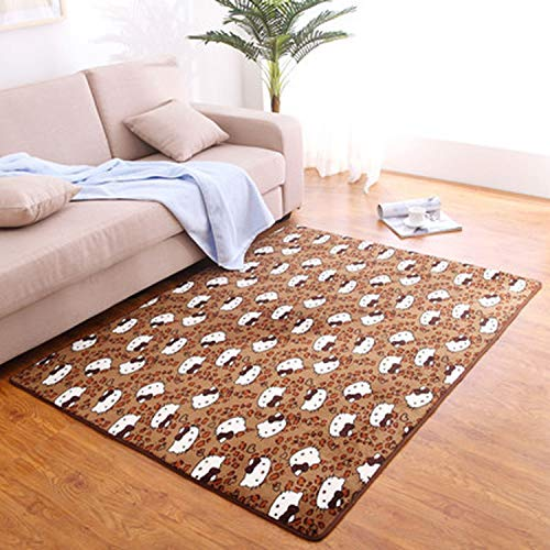 80 X120Cm Thicken Bedroom Mats Living Room Printing for sale  Delivered anywhere in Canada