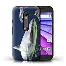 STUFF4 Phone Case / Cover for Motorola Moto G (2015) / Blacktip Shark Design / Marine Wildlife Collection