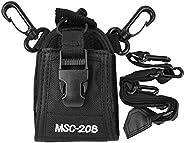 Radio Walkie Talkie Pocket Portable Nylon Shoulder Strap Belt Protector Bag for Police Production Workshop Con