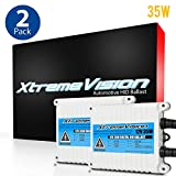 XtremeVision AC 35W HID Xenon Premium Slim Ballast (Pair - 2 PCS) - 2 Year Warranty