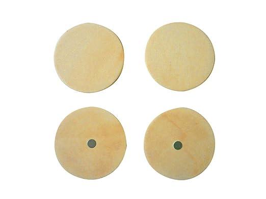 /Confezione da 10 Yellow Magnetico forme/ /cerchi/ /5/x 5/cm/