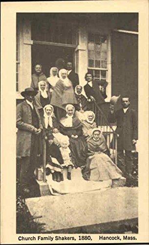 - Church Family Shakers, 1880 Hancock, Massachusetts Original Vintage Postcard