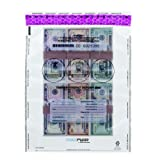 MMF Industries FREEZFraud Deposit Bags, 12 x 16 Inches, 100 Bags Per Pack, Clear (236210420)