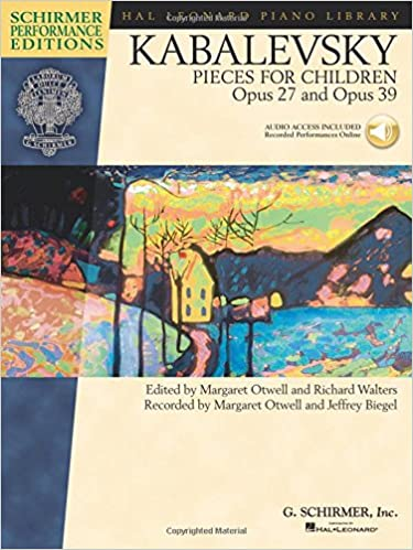 Book Dmitri Kabalevsky - Pieces for Children, Op. 27 and 39: Schirmer Performance Editions Bk/Online Audio (Hal Leonard Student Piano Library: Schirmer Performance Editions)