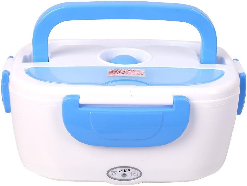 contenitore per bento riscaldatore scaldavivande riutilizzabile con cucchiaio 220V Lunch Box elettrico Green