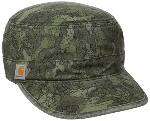 Carhartt Women's El Paso Printed Military Cap Printed, Olive, (Eli Collection)