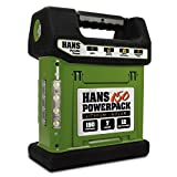 HANS 150 - Lithium Portable Solar Generator, 12 Year Warranty, Integrated 4.5W Solar Panel, 144Wh (10,000 mAh) Li-Ion Battery