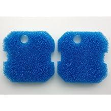 Finest-Filters 2 x Compatible Eheim Pro Professional Blue Coarse Filter Foams