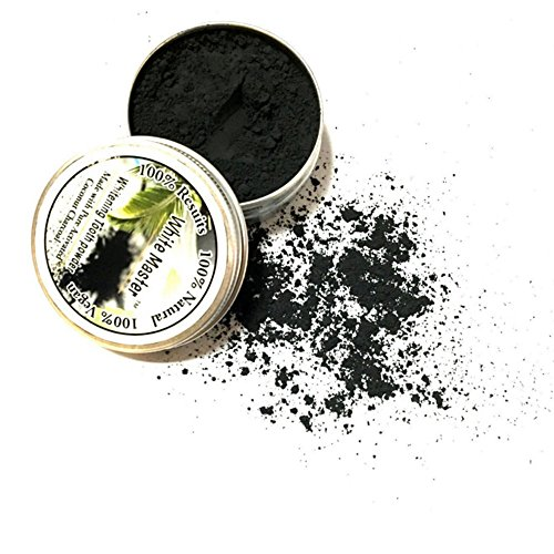 Price comparison product image Teeth Whitening Powder,Promisen Natural Organic Activated Charcoal Bamboo Toothpaste Removes Coffee Stains