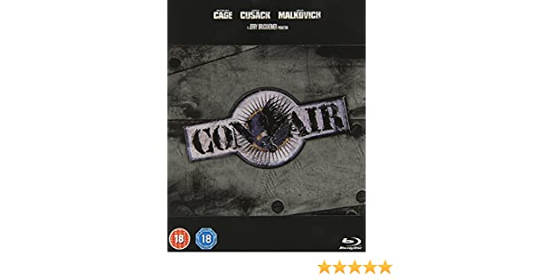 Con Air BD Steelbook [Reino Unido] [Blu-ray]: Amazon.es: Cine y Series TV