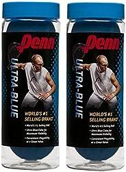 Penn Ultra-Blue Racquetballs (2 cans) 3 Ball can