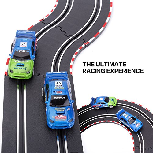 StarryBay 1/43 Scale Electric RC Slot Car Racing Track