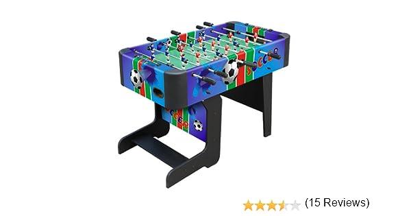 VILLA GIOCATTOLI – Futbolín Plegable, Fútbol Futbolín Futbolín: Amazon.es: Juguetes y juegos