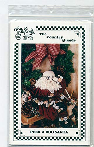 (Peek A Boo Santa Pattern The Country Quayle)
