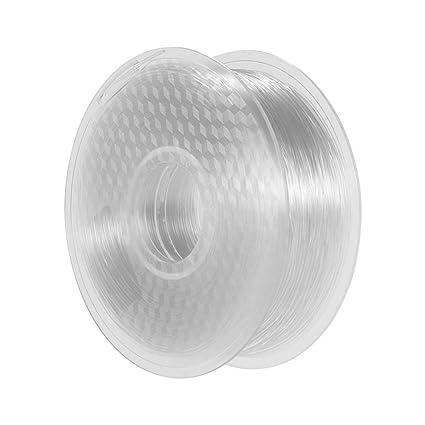 Filamento PETG de 1,75 mm para impresora 3D, 1 kg/2,2 lbs ...
